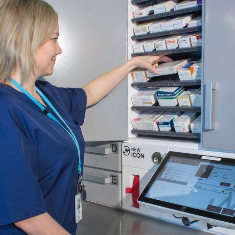 eMED ICON Smart Medicine Cabinet